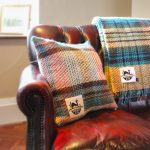100% Recycled Wool Cushion and Blanket